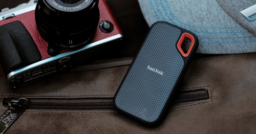 SanDisk Extreme Portable SSD.