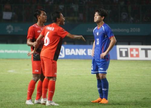 Timnas U-23 vs Taiwan. (Foto: Kautsar / Medcom.id)