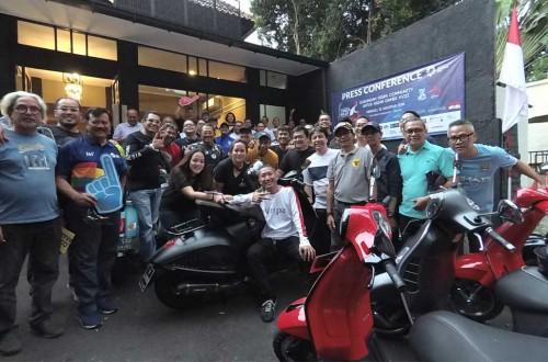 Komunitas Vespa bakal kawal kirab obor Asian Games 2018 di