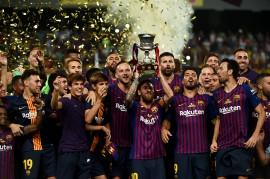 Barcelona Raih Gelar Piala Super Spanyol 2018