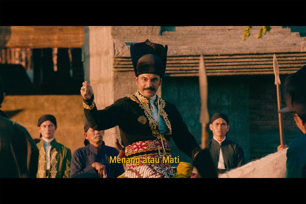 Cuplikan trailer film Sultan Agung: Tahta, Cinta, Perjuangan (Foto: YouTube Film Sultan Agung)