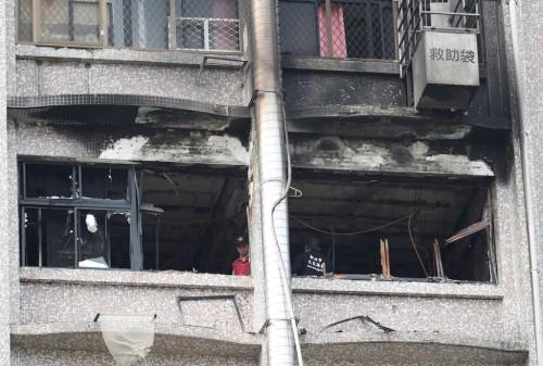 Kebakaran sebuah rumah sakit Taiwan menewaskan 10 orang. (Foto: