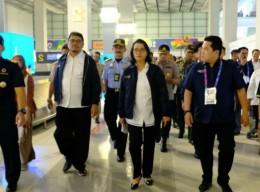 Sri Mulyani Inspects SHIA ahead of Asian Games