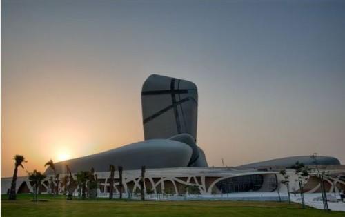 Gedung seluas 100 ribu meter persegi menjadi tempat pertunjukan