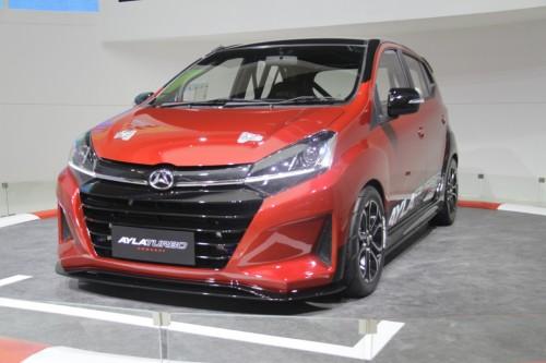 Daihatsu Ayla Turbo jadi mobil konsep Daihatsu dan tidak dijual.