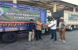 Kemendes PDTT Salurkan Bantuan untuk Korban Gempa Lombok
