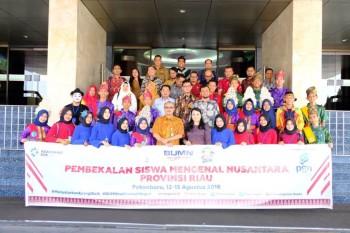 PGN Kirim 23 Remaja Riau ke Maluku Ikuti Program SMN