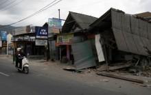 Jokowi Tengok Penanganan Gempa di Lombok
