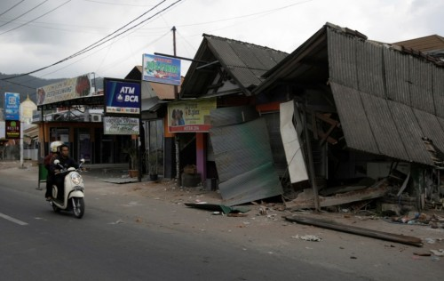 North Lombok is the hardest hit region in the island (Photo: