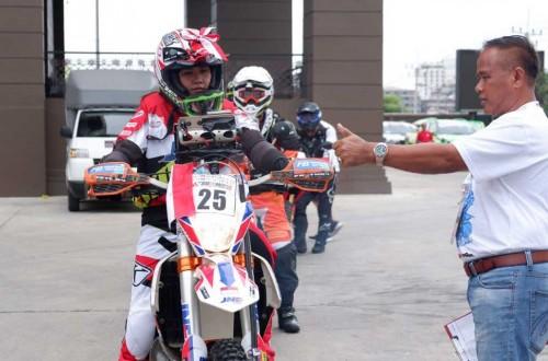 Tim Indonesia siap tempur di AXCR 2018 Thailand. JNEFBRT
