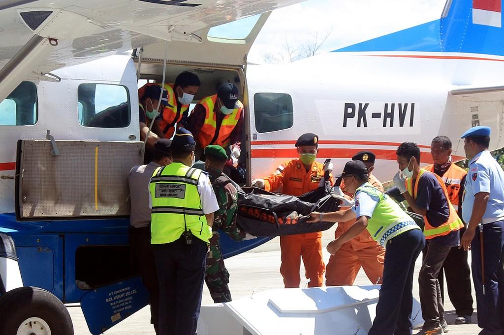 8 Jenazah Korban Kecelakaan Pesawat Dimonim Tiba di Jayapura