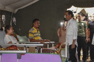 Kunjungi Korban Gempa Lombok, Jokowi akan Menginap di Tenda