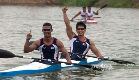 Tim Dayung Thailand tidak Incar Medali Emas