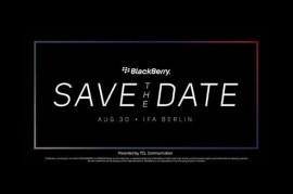 TCL Siapkan BlackBerry Anyar 30 Agustus?
