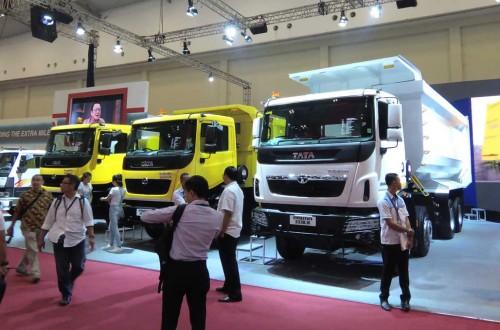 Penjualan Tata Motors moncer di GIIAS. medcom.id/Ahmad Garuda