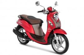 Yamaha Fino Grande Kini Ada Kelir Merah