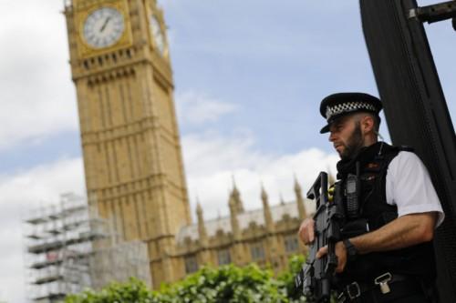 Ilustrasi polisi Inggris (Foto:AFP)