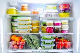 Cara Menyimpan Bahan Makanan di Kulkas yang Benar