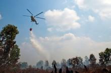 35 Helikopter Siaga Kebakaran Hutan