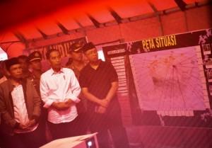Presiden Jokowi tinjau renovasi rumah Zohri