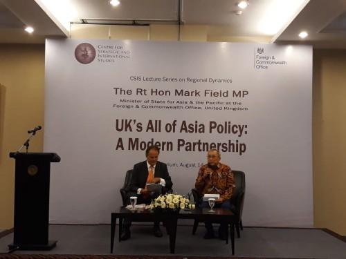 Inggris berencana memperkuat kerja sama dengan Asia, terutama di
