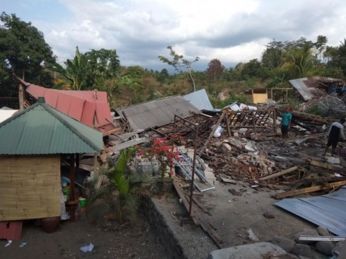 Bencana Lombok. Medcom.id/Whisnu Mardiansyah.