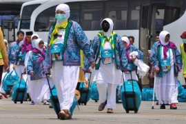 Berkat <i>Fast Track,</i> Risiko  Jemaah Haji Sakit Menurun