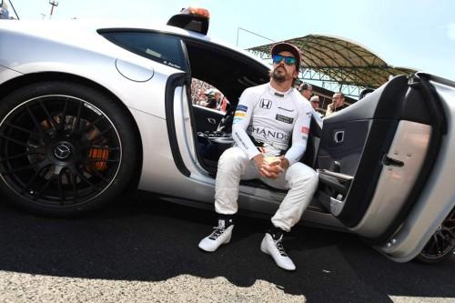 Fernando Alonso. (Photo by ANDREJ ISAKOVIC / AFP)