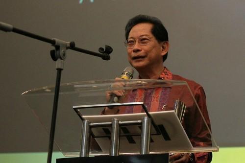 Presiden Direktur BCA Jahja Setiaatmadja (MI/ARYA MANGGALA)