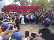 200 Personel Gabungan Jaga Pawai Obor Asian Games