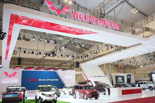 Wuling salah satu merek Tiongkok yang ikut serta di GIIAS 2018.
