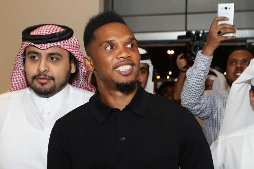 Eto'o Berlabuh di Qatar Sports Club