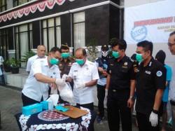 BNNP DIY Musnahkan 1 Kg Sabu
