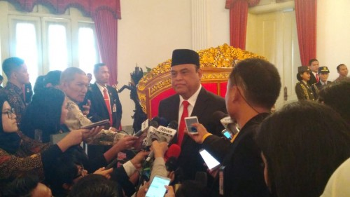 Administrative and Bureaucratic Reform Minister Syafruddin