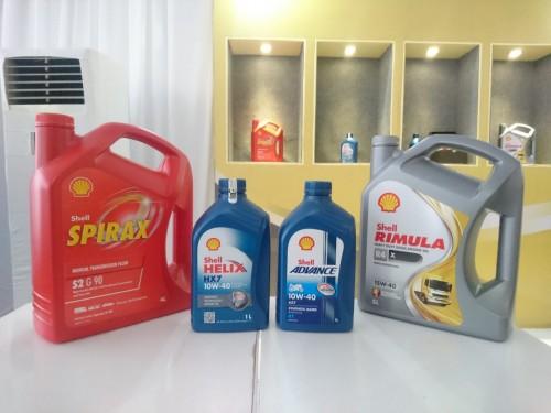 Lini produk Shell Lubricants di Indonesia. Medcom.id/Ekawan