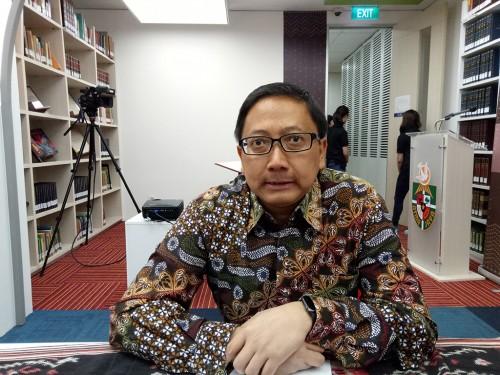 Rektor Universitas Katolik Indonesia (Unika) Atma Jaya Agustinus