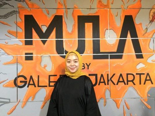 PR Mula by Galeria Jakarta Mayang Novita Maharani. (FOTO: