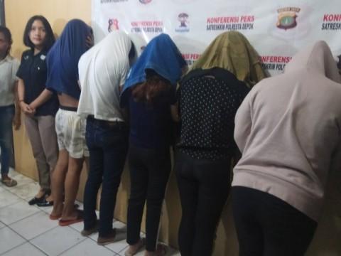 Polresta Depok Bongkar Praktik Prostitusi di Apartemen
