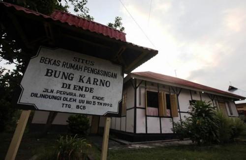 Antara 1934 hingga 1938 Bung Karno tinggal rumah yang sebelum