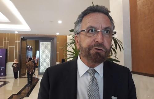 Rabi David Shlomo Rosen dalam pelaksanaan World Peace Forum di