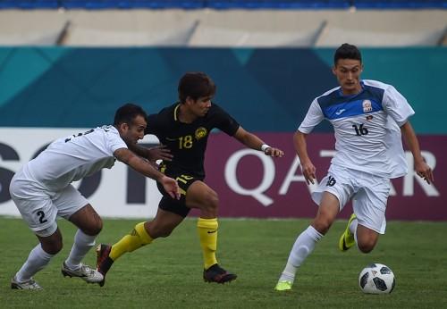 Suasana laga Kirgistan vs Malaysia pada Asian Games 2018 (Foto:
