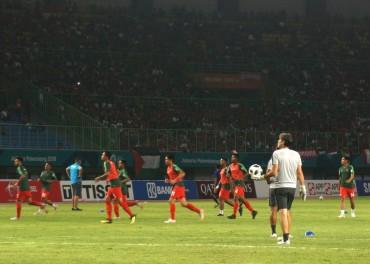 Susunan Pemain Timnas U-23 vs Palestina