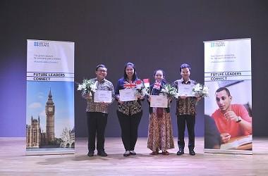 Empat anak muda akan mewakili Indonesia di program Future
