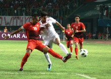 Babak I: Sempat Tertinggal, Timnas Indonesia U-23 Imbangi Palestina