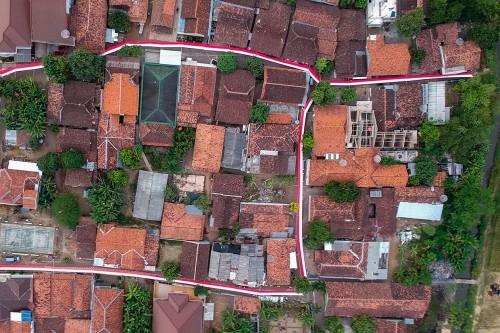 Peringati HUT RI, Merah Putih 1000 Meter Dipasang di Pekalongan