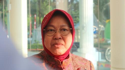 Surabaya Mayor Tri Rismaharini (Photo: Medcom/Dheri)