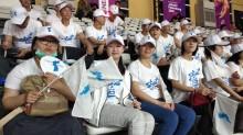 Suporter Korea Dominasi Pertandingan Basket Putri