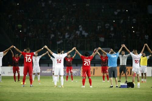 Palestina Taklukkan Indonesia 2-1