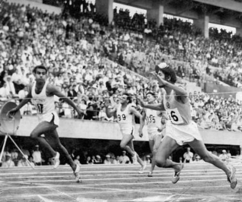 Momen cabor atletik di Asian Games 1958 (Foto: The Olympians)