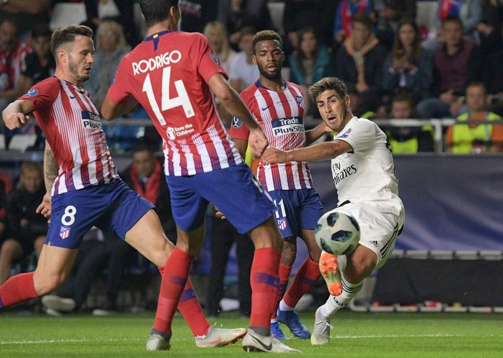 Real Madrid vs Atletico Madrid (AFP/RAIGO PAJULA )
